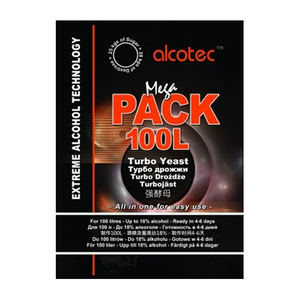 Alcotec Mega Pack Turbo Yeast