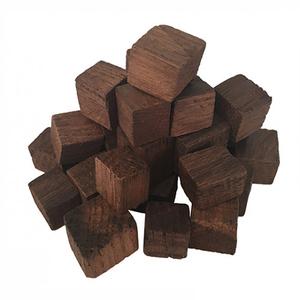 Кубики дубовые сильный обжиг 100гр
