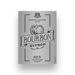 Этикетка «Бурбон»